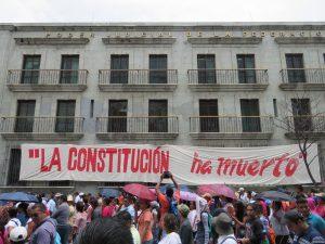 Marcha de protesta 20 de junio, Cd Oaxaca
