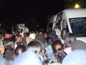 Llegada de detenidos de Nochixtlán