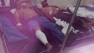 Heridos en Hospital Básico Comunitario